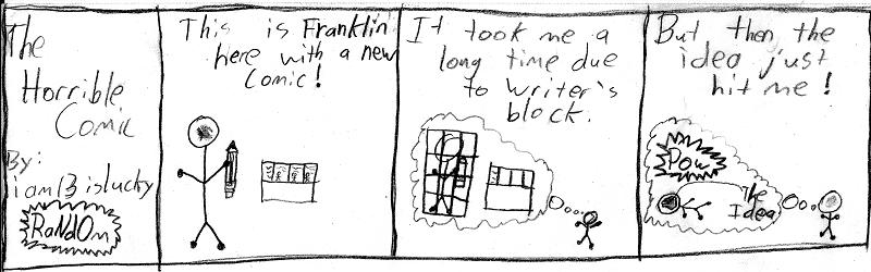 5: Writer's block