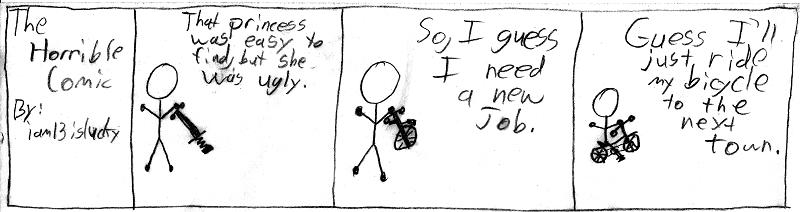 Comic 2: Ugly